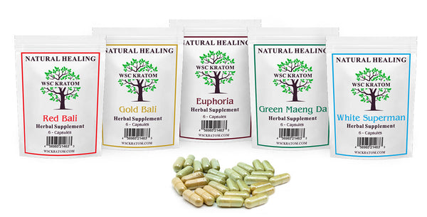 WSC Kratom Pills Sample Pack