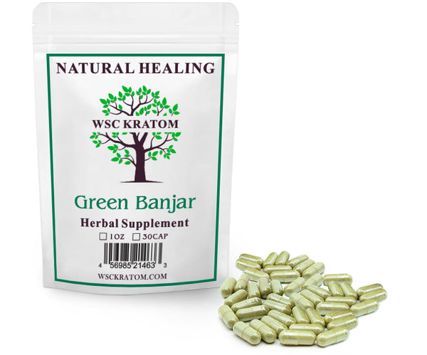 Green Banjar Pills
