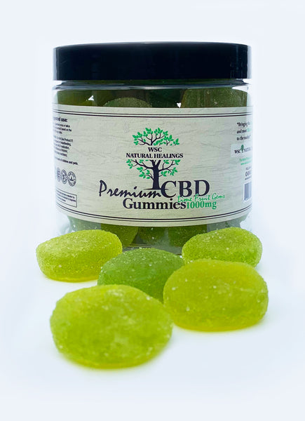 WSC CBD Lime Fruit Gems Gummies