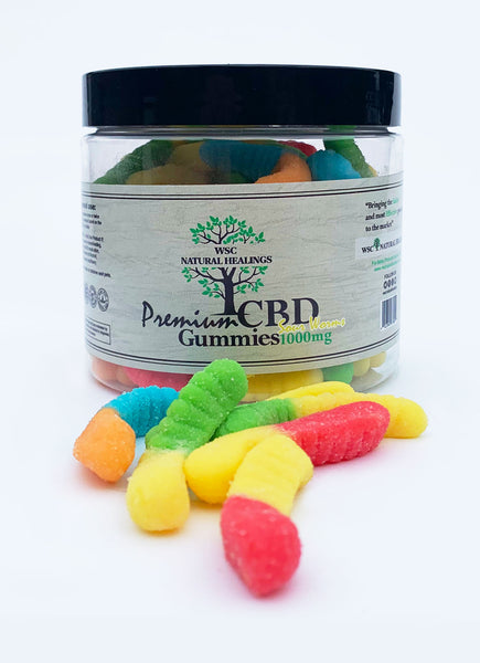 WSC CBD Sour Worms Gummies