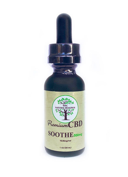 WSC CBD Soothe Oil Tincture