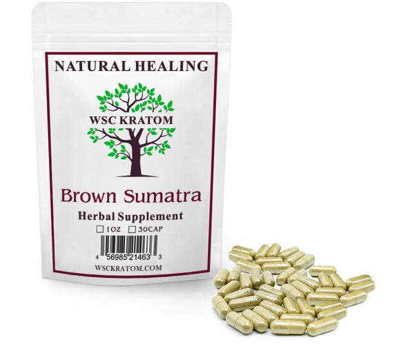 Brown Sumatra Pills