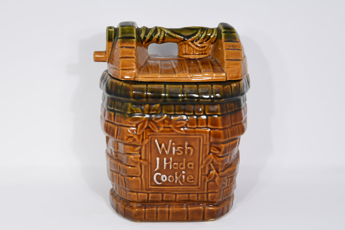 Wishing Well Cookie Jar