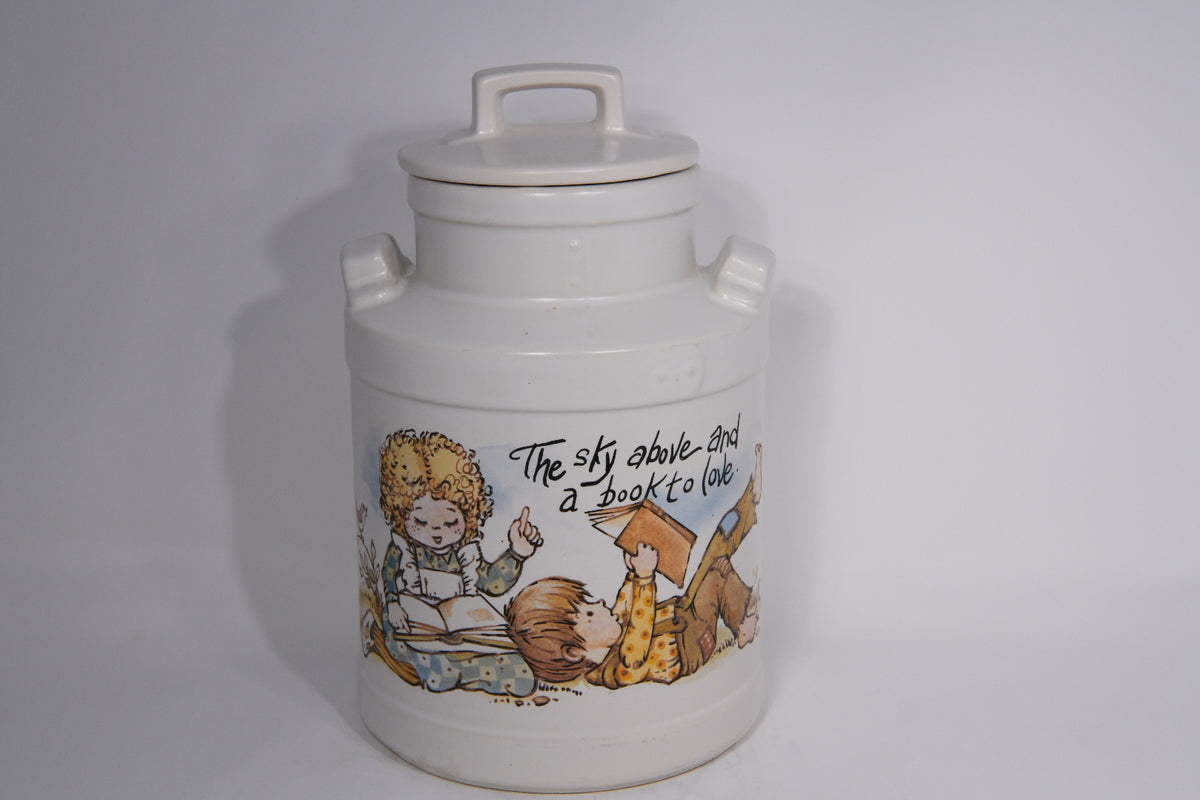 Vintage Children's Fairytale Cookie Jar