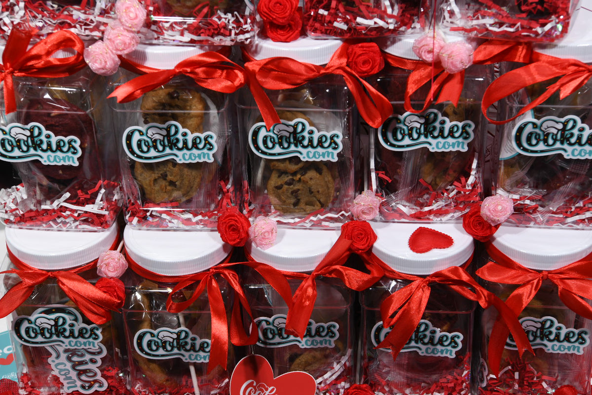 Ten Pack of Valentine's Day Cookie Jars
