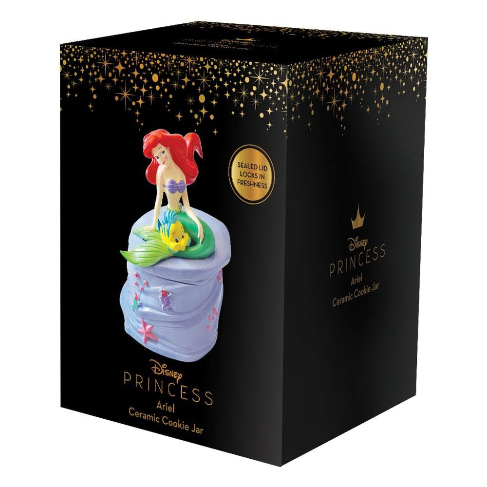 Disney The Little Mermaid Ariel Ceramic Cookie Jar