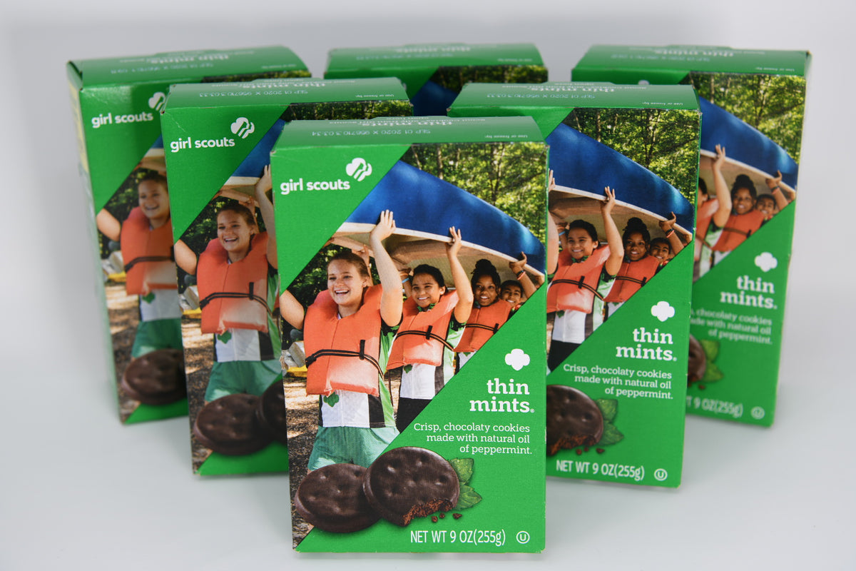 Thin Mints Girl Scout Cookies