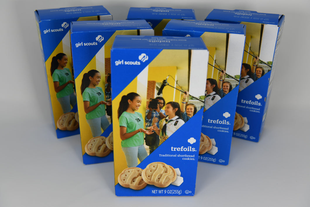 Trefoils Girl Scout Cookies