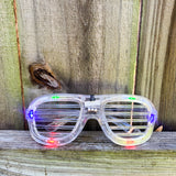 Summertime Celebration Party Glasses - Flashing LED Light-Up Glasses
