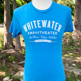 Whitewater Amphitheater Live Music T-Shirt - Vintage Turquoise