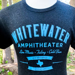 Whitewater Amphitheater Live Music T-Shirt - Gray/Blue