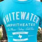 Whitewater Amphitheater Live Music T-Shirt - Guadalupe Blue