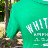 Whitewater Amphitheater Live Music T-Shirt - Kelly Green
