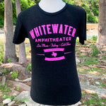 Whitewater Amphitheater Live Music T-Shirt - Gray/Pink