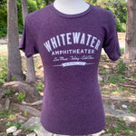 Whitewater Amphitheater Live Music T-Shirt - Vintage Purple