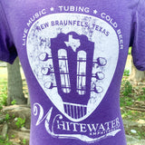 Texas Guitar Pick T-Shirt - Purple