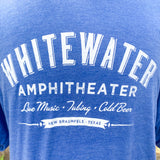 Whitewater Amphitheater Live Music T-Shirt - Royal Blue