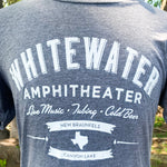 Whitewater Amphitheater Live Music T-Shirt - Light Gray