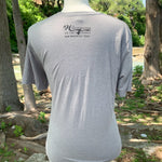 Follow Your Arrow - Compass T-Shirt - Gray/Black