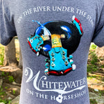 Whitewater Sports Tubing T-Shirt - Gray