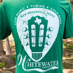 Texas Guitar Pick T-Shirt - Grass Green