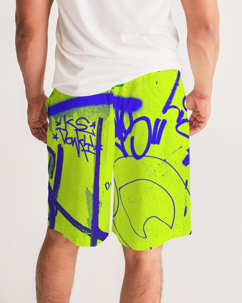 GRAFF! Green Shorts - Male Shorts - Yuhtoobright!