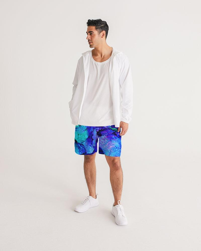 LGN! Blue Lagoon Shorts - Male Shorts - Yuhtoobright!