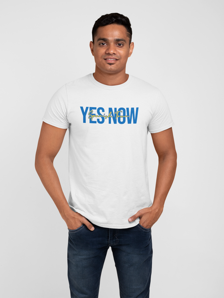 YES NOW! Blue Tee