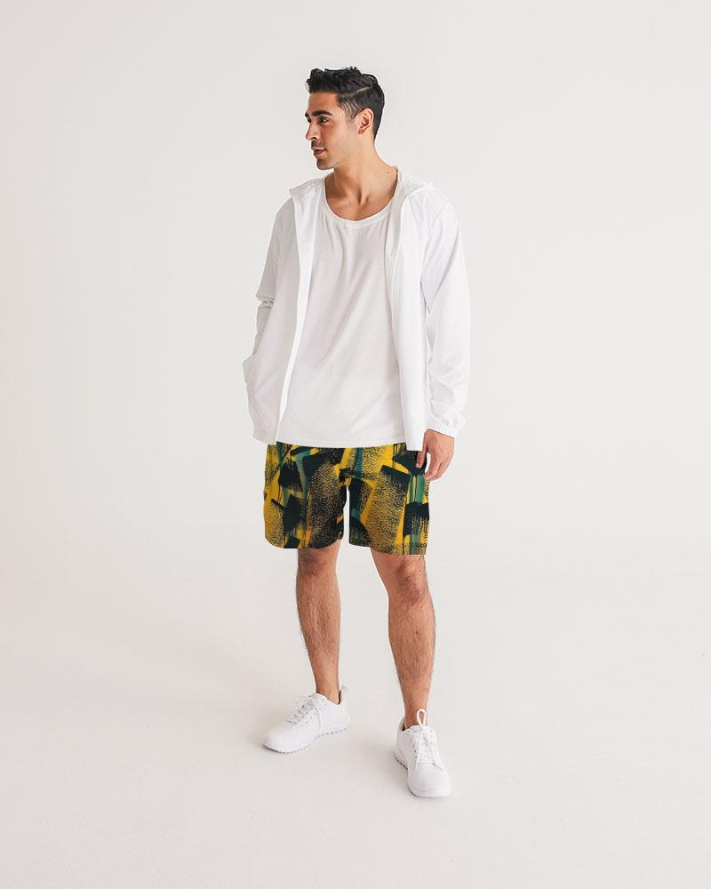 RUDE! Black Shorts-Mens Shorts-Yuhtoobright!