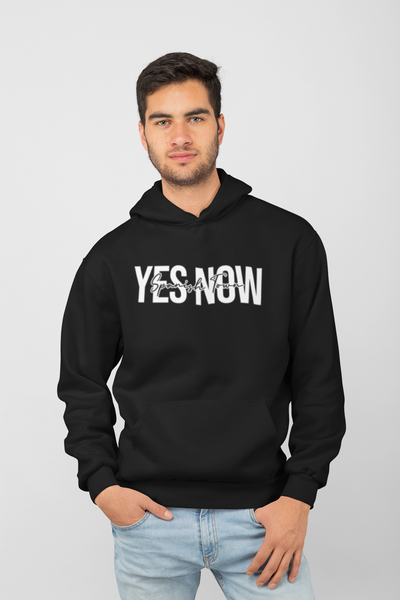 YES NOW! Hoodie - Male Hoodie - Yuhtoobright!
