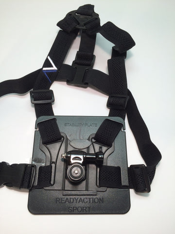 READYACTION Sport Smartphone//Camera Chest Harness Ships w//Free Bike Mount