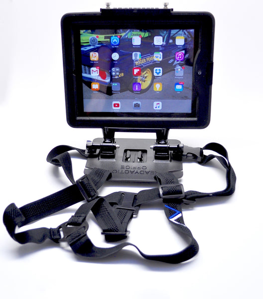 READYACTION Office XL Pro - Tablet Chest Harness for iPad Pro 12.9 and similar XL Tablets