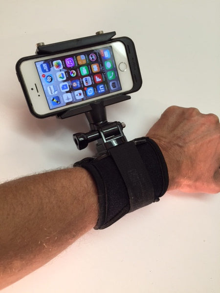 READYACTION - Wrist Mount for iPhone and Galaxy Android