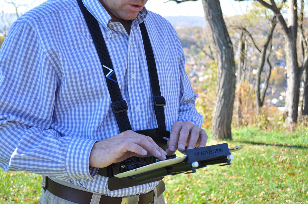 Readyaction Office Tablet Chest Harness For Ipad Air And
