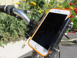 READYACTION - Bike Handlebar Mount for iPhone and Android- Ships with FREE Car Mount!