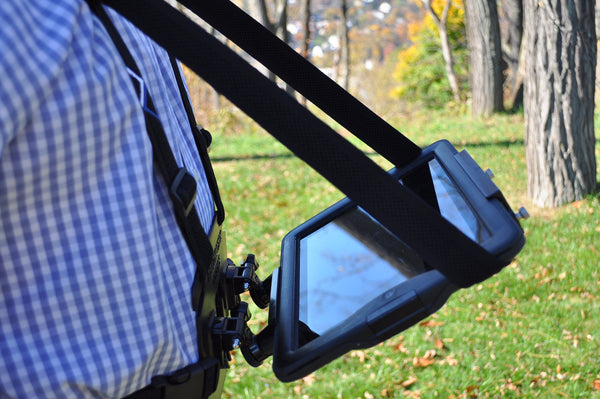 READYACTION Office - Tablet Chest Harness for iPad Air, 9.7 Pro, iPad Mini, Surface Pro and Similar Tablets