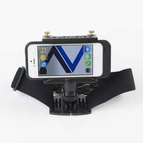 READYACTION - Head/Helmet Mount for iPhone and Galaxy Android