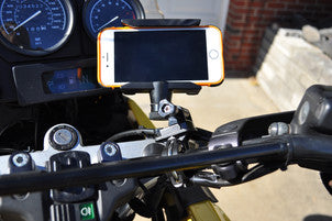 Mount Your iPad or iPhone To Your Motorcycle