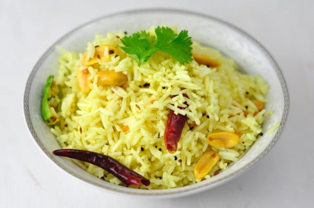 Lemon Rice (V, Gf)