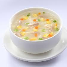 Sweet Corn Soup (V, Gf)