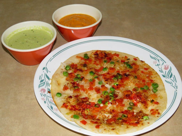Vegetable Uthappam (V, Gf)