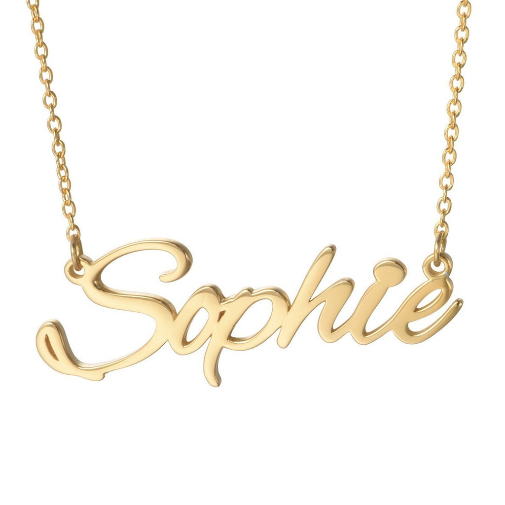 Classic Custom Name Necklace