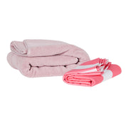 quick dry beach towels lightpink compact towel versus normal towel