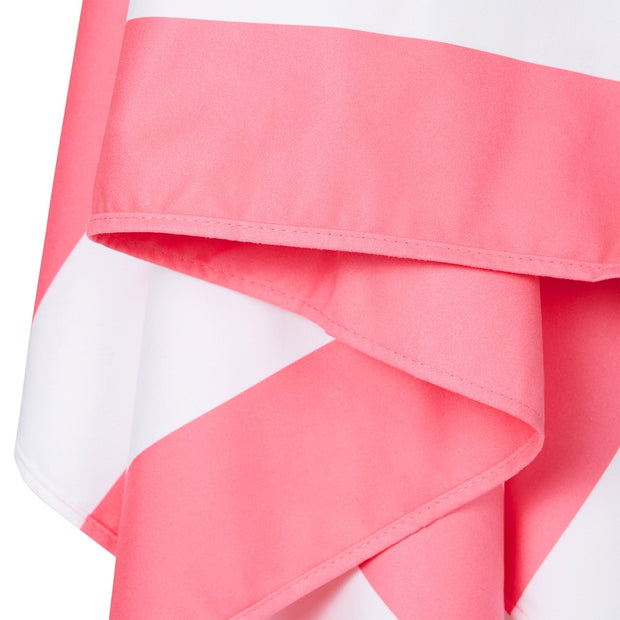 quick dry beach towels lightpink close up soft microfiber fabric