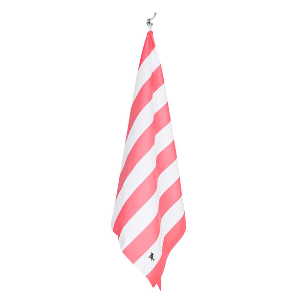 quick dry beach towels lightpink microfiber towel hanging