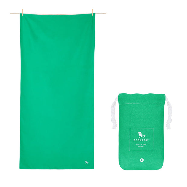 microfiber travel towels green quick dry towel with pouch