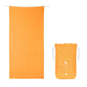 microfiber travel towels orange quick dry towel with pouch
