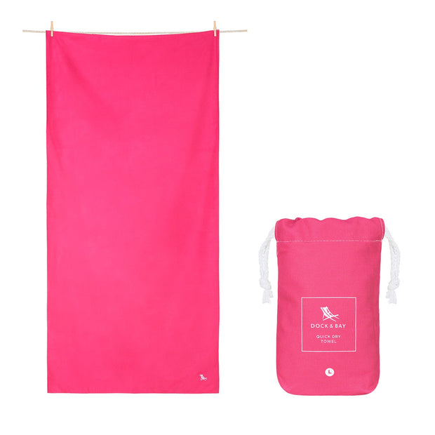 microfiber travel towels pink quick dry towel with pouch