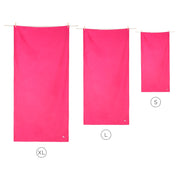 microfiber travel towels pink