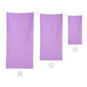 microfiber travel towels purple